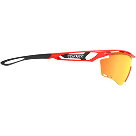 Rudy Project Tralyx Gafas, red fluo gloss/multilaser orange